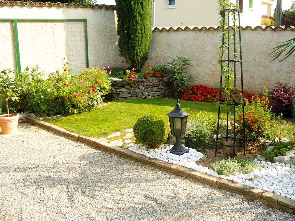 Restanque muret pierres jardin for Amenagement jardin nord