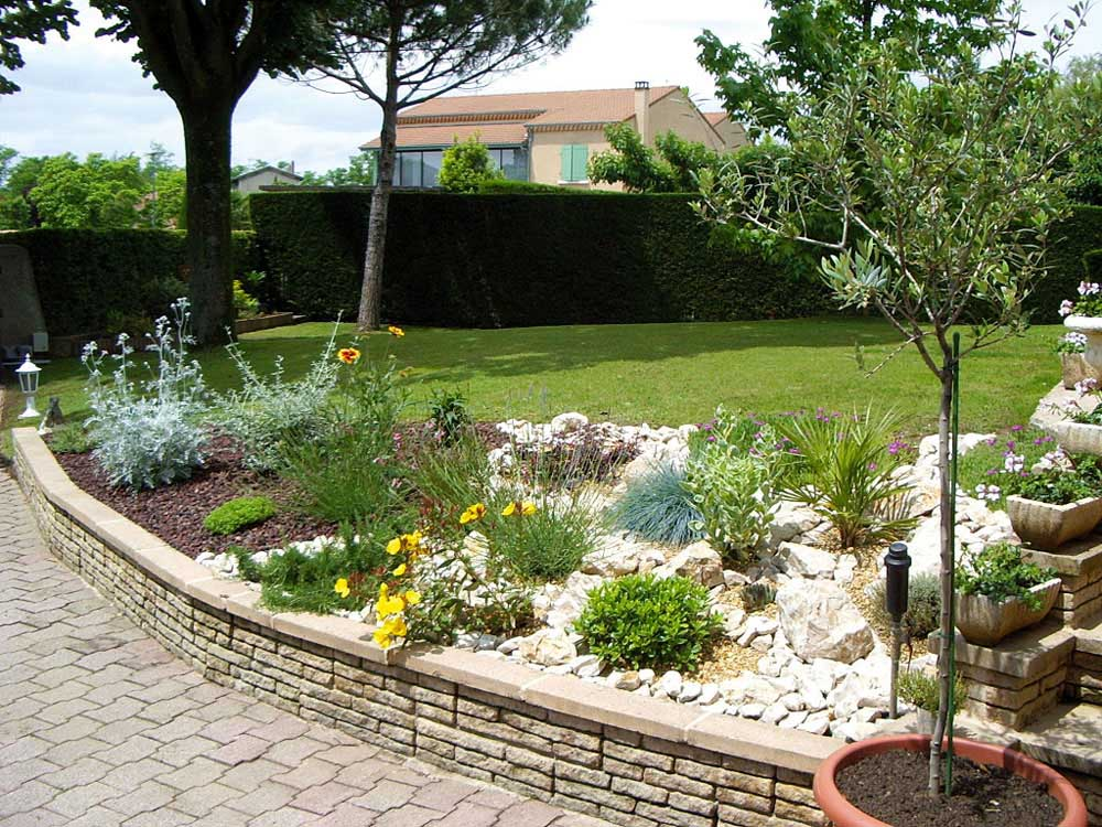 D co jardin rocaille for Jardin rocaille